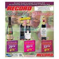 Catalogue Cora du 16 août au 13 octobre 2018 (Record)