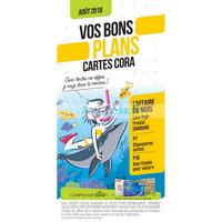Catalogue Cora du 1er au 31 août 2018 (Offres Cartes)