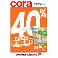 Catalogue Cora du 21 au 27 août 2018