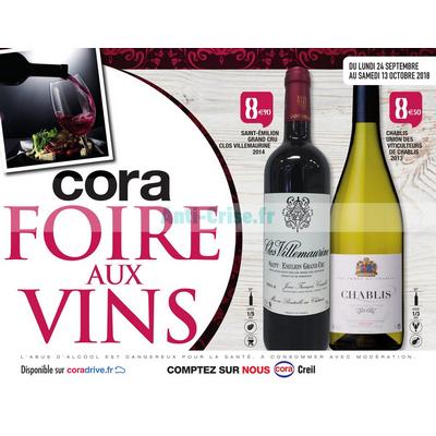 Catalogue Cora du 24 septembre au 13 octobre 2018 (Creil - Vins)