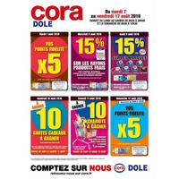 Catalogue Cora du 7 au 19 août 2018 (Dole)