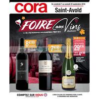 Catalogue Cora du 7 au 22 septembre 2018 (Saint-Avold Vins)