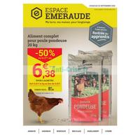 Catalogue Espace Emeraude du 22 août au 22 septembre 2018