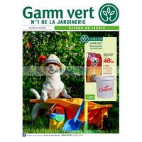 Catalogue Gamm Vert du 8 au 19 août 2018