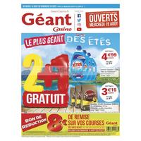 Catalogue Géant Casino du 14 au 26 août 2018