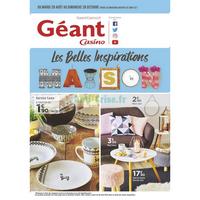 Catalogue Géant Casino du 28 août au 28 octobre 2018 (Maison)
