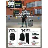Catalogue Go Sport du 30 juillet au 26 août 2018