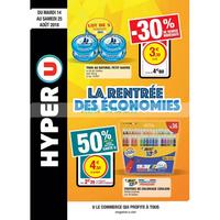 Catalogue Hyper U du 14 au 25 août 2018