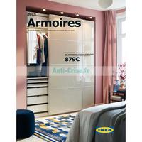 Catalogue Ikea du 21 août 2018 au 31 juillet 2019 (Armoires)
