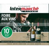 Catalogue Intermarché du 11 au 30 septembre 2018 (Foire aux Vins)