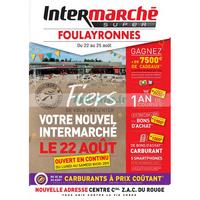 Catalogue Intermarché du 22 au 25 août 2018 (Foulayronnes)