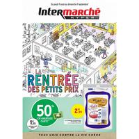 Catalogue Intermarché du 9 août au 9 septembre 2018 (Version Hyper - Rentrée Scolaire)