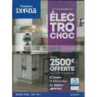 Catalogue Ixina du 1er au 30 septembre 2018
