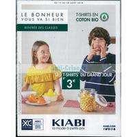 Catalogue Kiabi du 15 au 28 août 2018