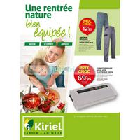 Catalogue Kiriel du 24 août au 29 septembre 2018