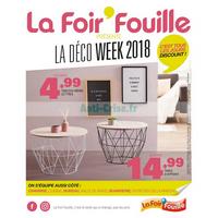 Catalogue La Foir'Fouille du 20 août au 7 octobre 2018