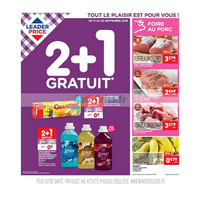 Catalogue Leader Price du 11 au 23 septembre 2018