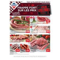 Catalogue Leader Price du 14 au 19 août 2018 (Grillades)
