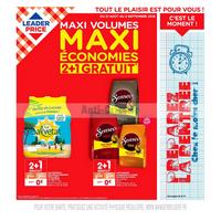 Catalogue Leader Price du 21 août au 2 septembre 2018