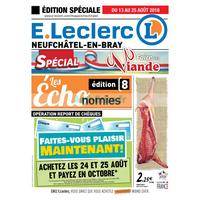 Catalogue Leclerc du 13 au 25 août 2018 (Neufchâtel-en-Bray)