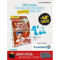 Catalogue Leclerc du 14 au 25 août 2018