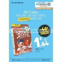 Catalogue Leclerc du 14 au 25 août 2018 (Express)