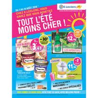 Catalogue Leclerc du 7 au 19 août 2018 (Saint Aunès)