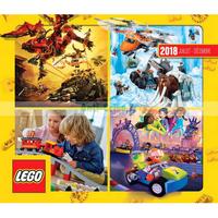 Catalogue Lego du 1er juillet au 31 décembre 2018