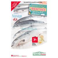 Catalogue Les Halles Auchan du 14 au 21 août 2018