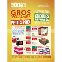 Catalogue Match du 14 au 26 août 2018 (Gros Volumes)