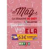 Catalogue Match du 1er au 30 septembre 2018 (Le Mag)