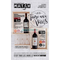 Catalogue Match du 6 au 23 septembre 2018 (Vins)