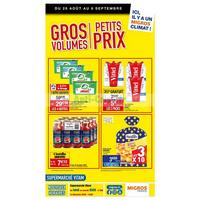 Catalogue Migros du 28 août au 8 septembre 2018 (Vitam Gros Volumes)