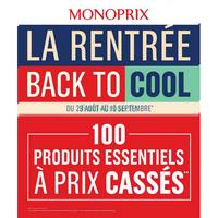 Catalogue Monoprix du 29 août au 10 septembre 2018