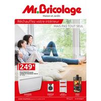 Catalogue Mr Bricolage du 22 août au 31 octobre 2018