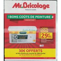 Catalogue Mr Bricolage du 31 juillet au 19 août 2018