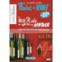 Catalogue Nicolas du 12 septembre au 16 octobre 2018