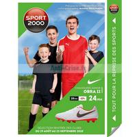 Catalogue Sport 2000 du 29 août au 23 septembre 2018
