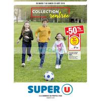 Catalogue Super U du 7 au 25 août 2018 (Mode Rentrée)