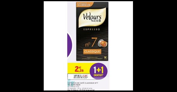 Cafe Velours Bon De Reduction