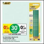 Bon Plan Crayons Graphite Evolution HB Bic chez Intermarché (28/08 - 09/09) - anti-crise.fr
