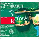 Bon Plan Activia Saveur Danone chez Match (28/08 - 02/09) - anti-crise.fr