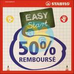 Offre de Remboursement Stabilo : 50% sur Easy Start - anti-crise.fr