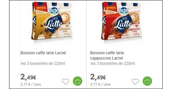 Bon Plan Caffè Latte Lactel - anti-crise.fr