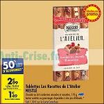 Bon Plan Tablette de Chocolat les Recettes de l'Atelier Nestlé chez Carrefour (21/08 - 27/08) - anti-crise.fr