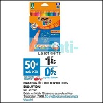 Bon Plan Crayons de Couleur Bic chez Auchan (14/08 - 21/08) - anti-crise.fr