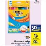 Bon Plan Crayons de Couleur Bic chez Carrefour (21/08 - 27/08) - anti-crise.fr
