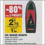 Bon Plan Gel Douche Scorpio chez Carrefour (04/09 - 16/09) - anti-crise.fr