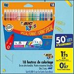 Bon Plan Feutres de Coloriage Bic chez Carrefour (21/08 - 27/08) - anti-crise.fr