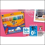 Bon Plan Feutres de Coloriage Bic chez Auchan (22/08 - 28/08) - anti-crise.fr